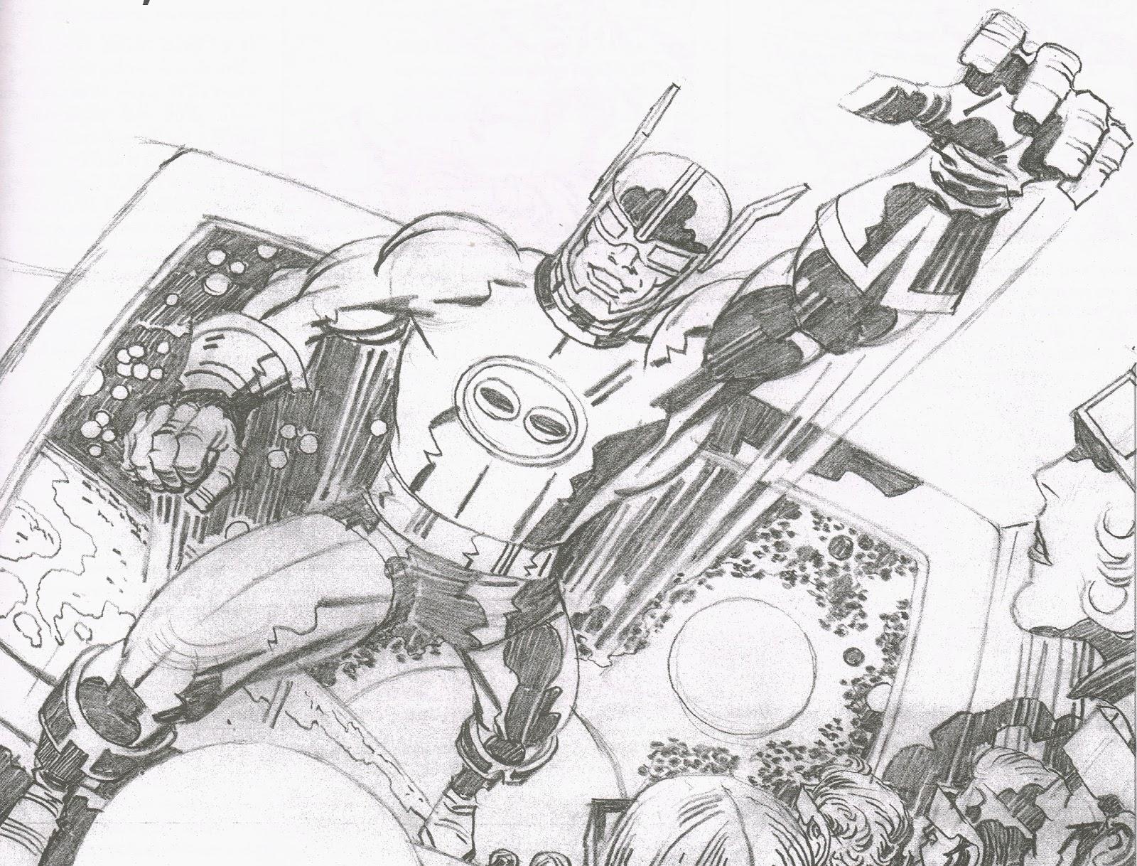 Cap'n's Comics: Cap'n 3-D by Jack Kirby