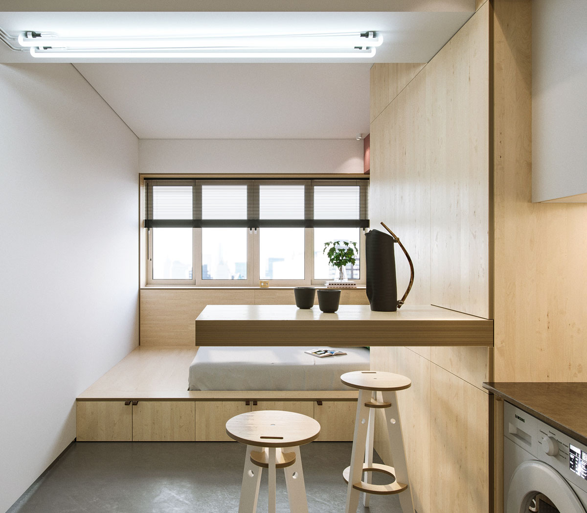 Tiny Apartment: VM Designblogg: Studio 23m²