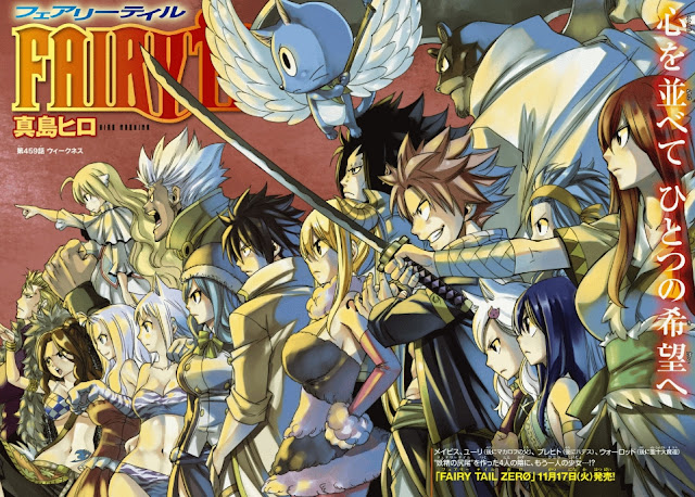 Fairy Tail Manga Fantasy Terbaik