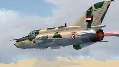 طائرات حربية سورية