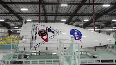 La nave espacial OSIRIS-REx.