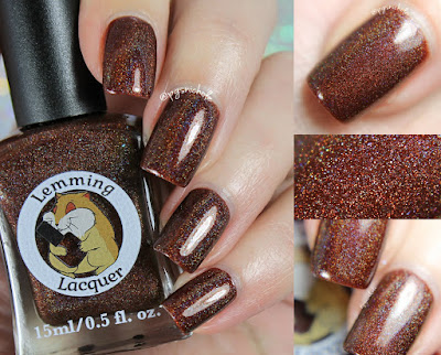 Lemming Lacquer You're Not My Supervisor! | Damn It, I had Something For This; An Archer Inspired Collection