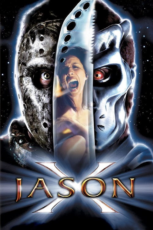 Poster Of Jason X In Dual Audio Hindi English 300MB Compressed Small Size Pc Movie Free Download Only At worldfree4u.com