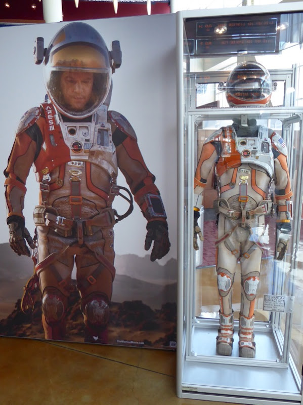 The Martian NASA spacesuit