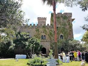 Boda en el castillo de las Seguras (Cáceres)