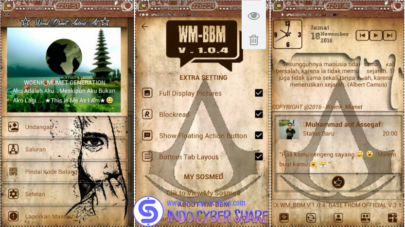 WM-BBM MOD Base Version 3.1.0.13