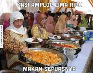 Meme Comic Indonesia terbaru Lucu kondangan