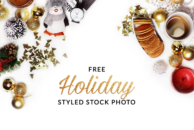 Holiday Styled Stock Photography High-Res Image FREE STYLED STOCK PHOTO Christmas miameo