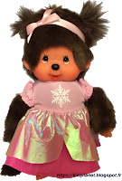 Monchhichi Princesse des Neiges Rose 23008