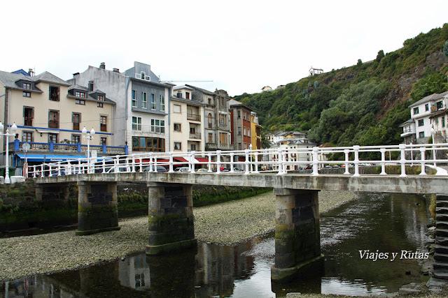 Puente del beso de Luarca