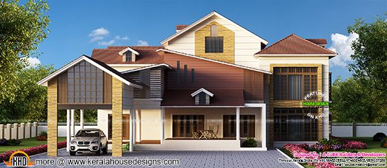 Modern luxurious home design