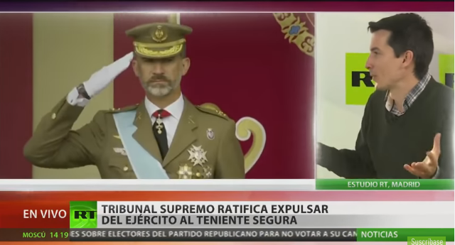 RT entrevista al exteniente Luis Gonzalo Segura