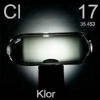 Klor Elementi Simgesi Cl
