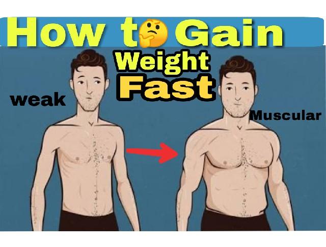 वजन कैसे बढ़ाये  how to gain weight in hindi