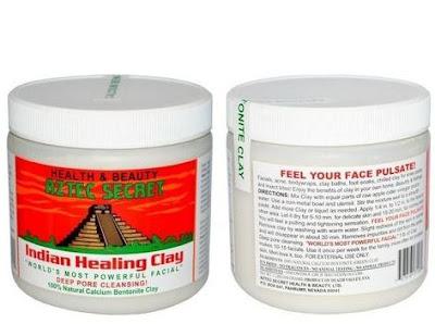 Aztec Secret Indian Healing Clay Deep Pore Cleansing Masker Jerawat Punggung Resep Dokter Kulit