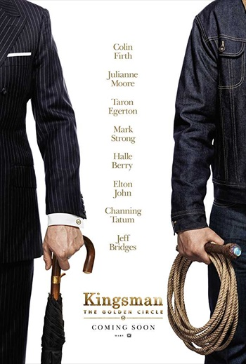 Kingsman The Golden Circle 2017 pDVDRip Hindi Dubbed 700MB