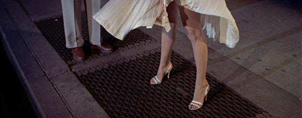 The iconic shot of Marilyn Monroe in The Seven Year Itch