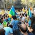 بالفيديو: عشرات الباسك والأمازيغ يشاركون في مظاهرة ضخمة للشعب الكتلاني