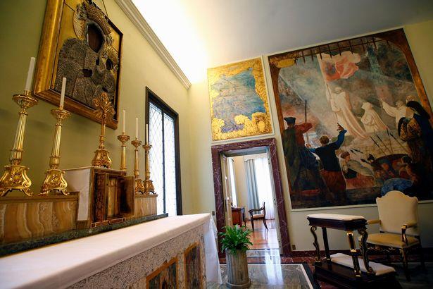 Papal apartments