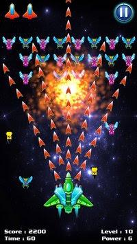 تحميل لعبة حرب الطائرات Galaxy Attack للاندرويد مجانا