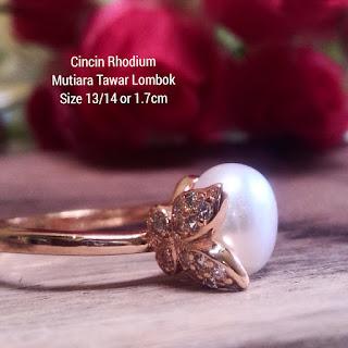 Cincin Rhodium murah