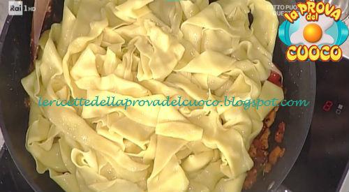 Pappardelle al sugo del cortile ricetta Messeri da Prova del Cuoco