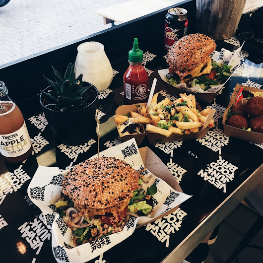 The Amsterdam Food Hotspot: Vegan Junk Food Bar
