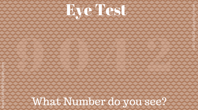 Test you Observational skill with this visual puzzle