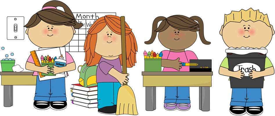 kindergarten clipart classroom jobs - photo #42