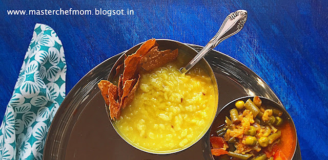 Khichdi | How to make Rajasthani Style Plain Khichdi