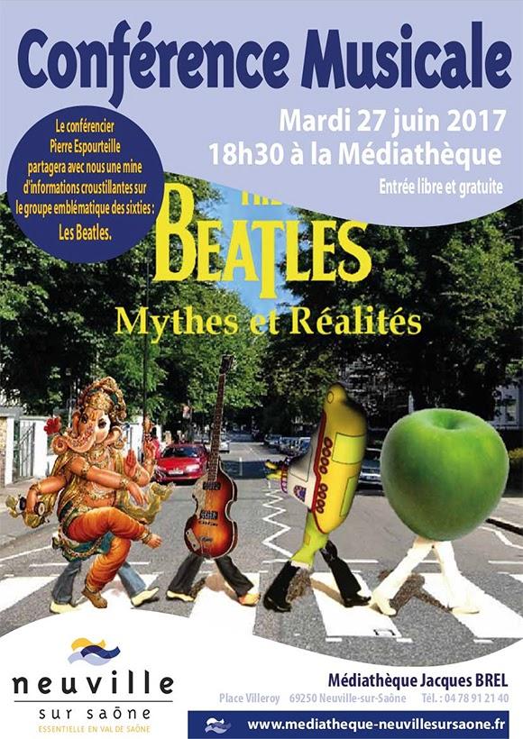 Conférence de Pierre Espourteille consacrée aux Beatles