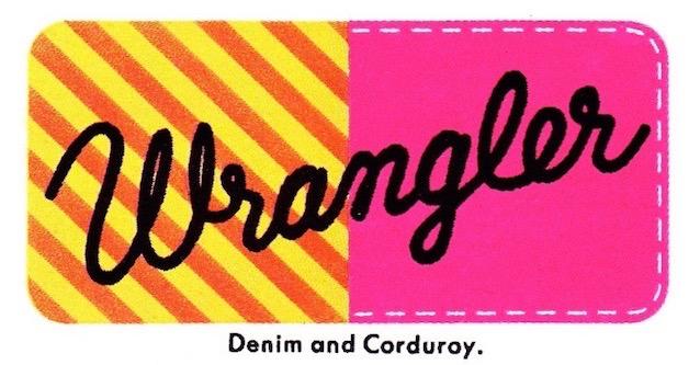Wrangler Logo 1970