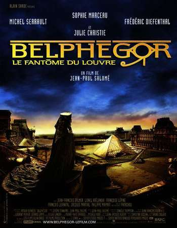 Poster Of Belphegor Phantom of the Louvre 2001 Dual Audio 720p BRRip Free Download Watch Online