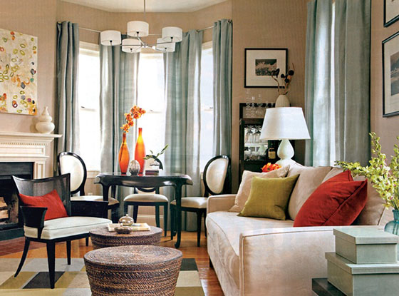 What Color Curtains With Tan Walls Elegant Living Room White