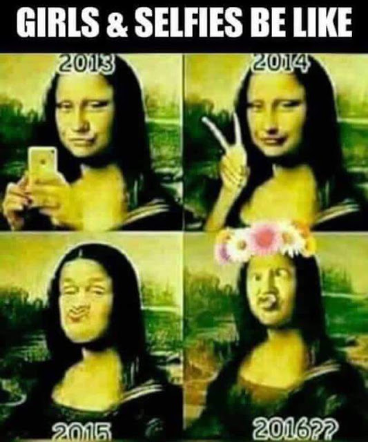 Funny Girls and Selfies Be Like Meme Picture