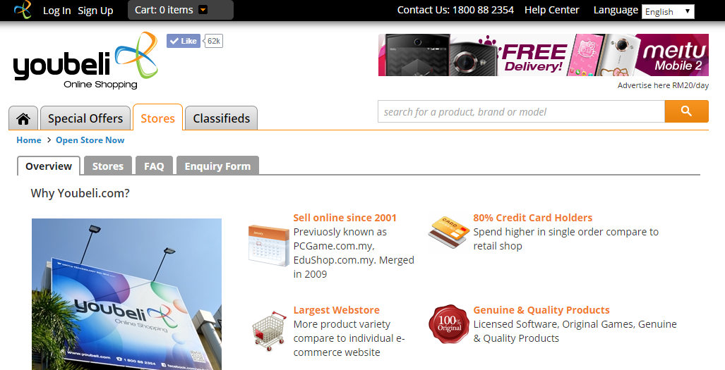 Malaysia online marketplace - Youbeli