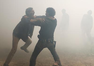 Rick Grimes (Andrew Lincoln) nell'episodio 7x01