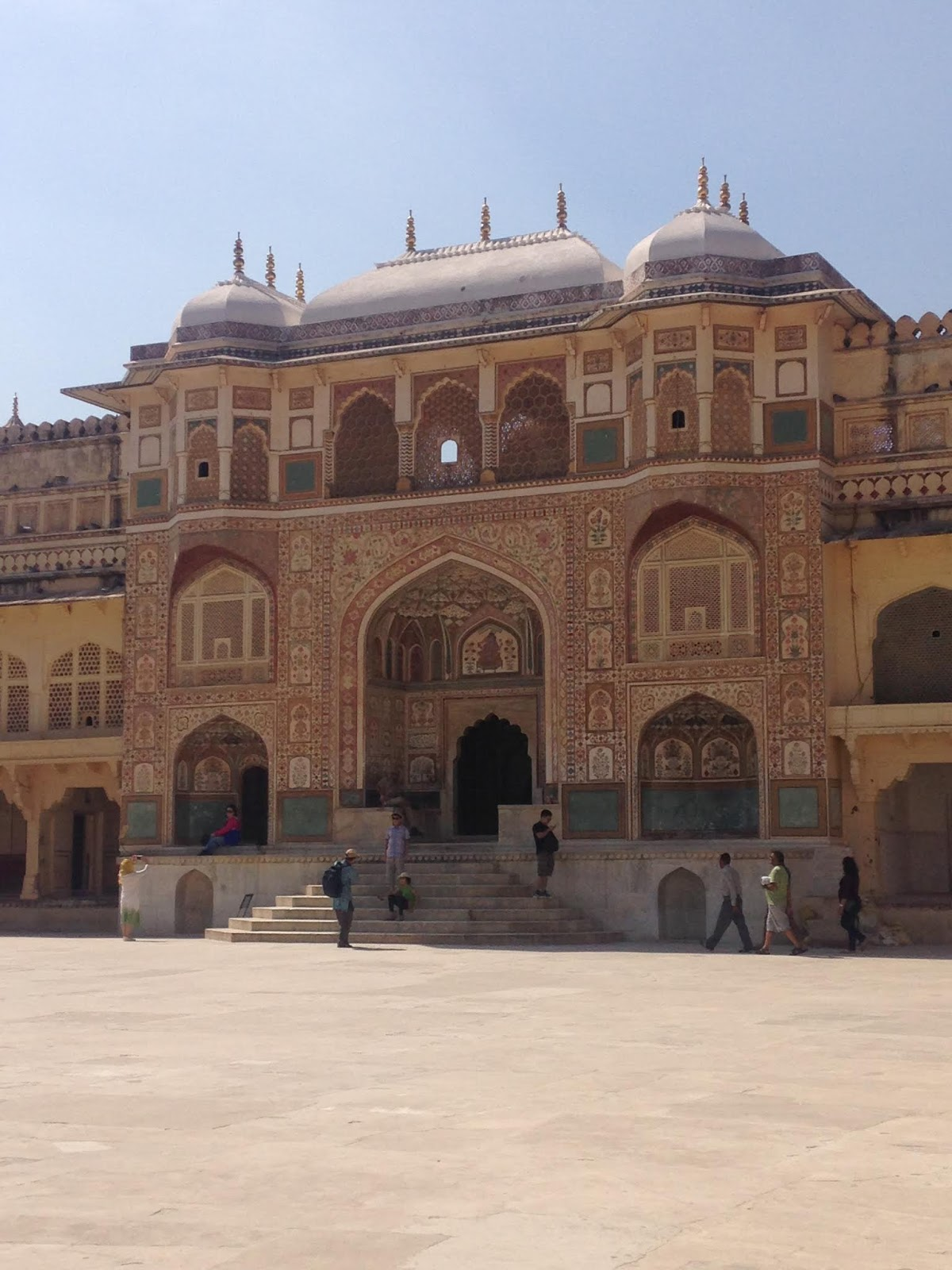 Amer Palace inside the fort