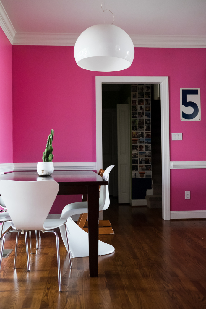 Pink Touches at Home-design addict mom