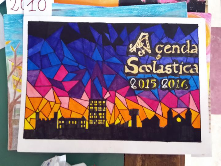 Preferenza Fidenza: La Scuola Media Zani mette l'arte nel diario scolastico  DC39