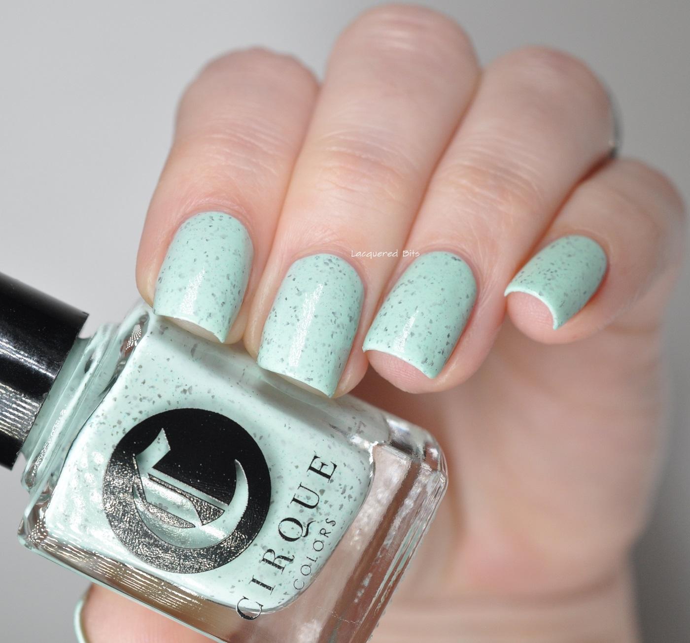 Mint Chip - Cirque Colors - Speckled 2016