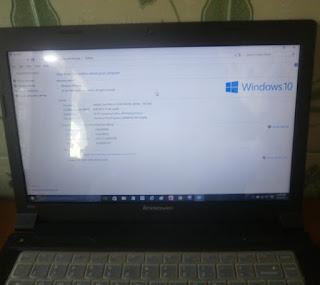 Gambar laptop lenovo B490
