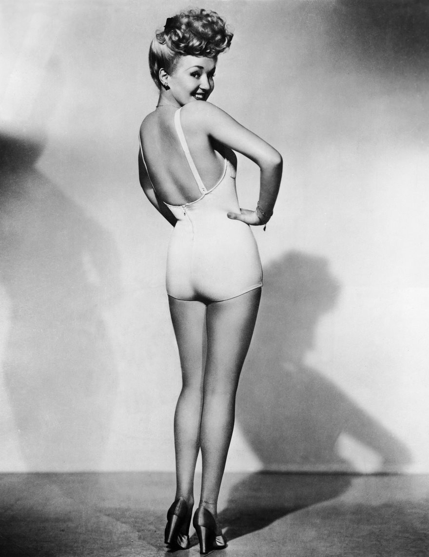 #55 Betty Grable, Frank Powolny, 1943 - Top 100 Of The Most Influential Photos Of All Time