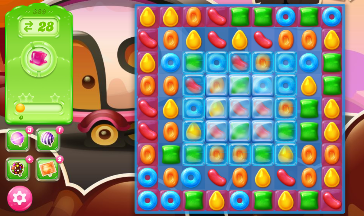 Candy Crush Jelly Saga 389