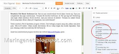 Cara Menghilangkan Kotak Komentar Blogspot Laman Tertentu