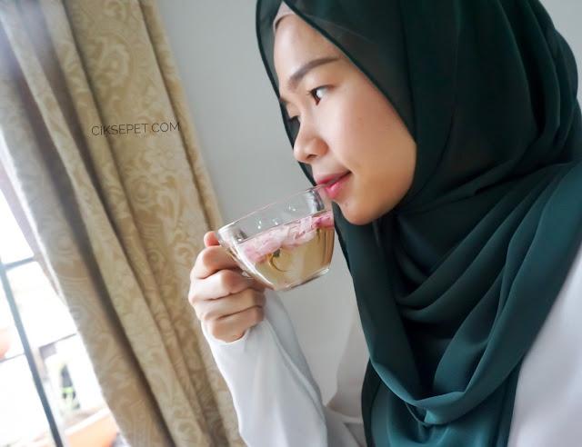CANTIK SEMULA JADI DENGAN rose tea beautea