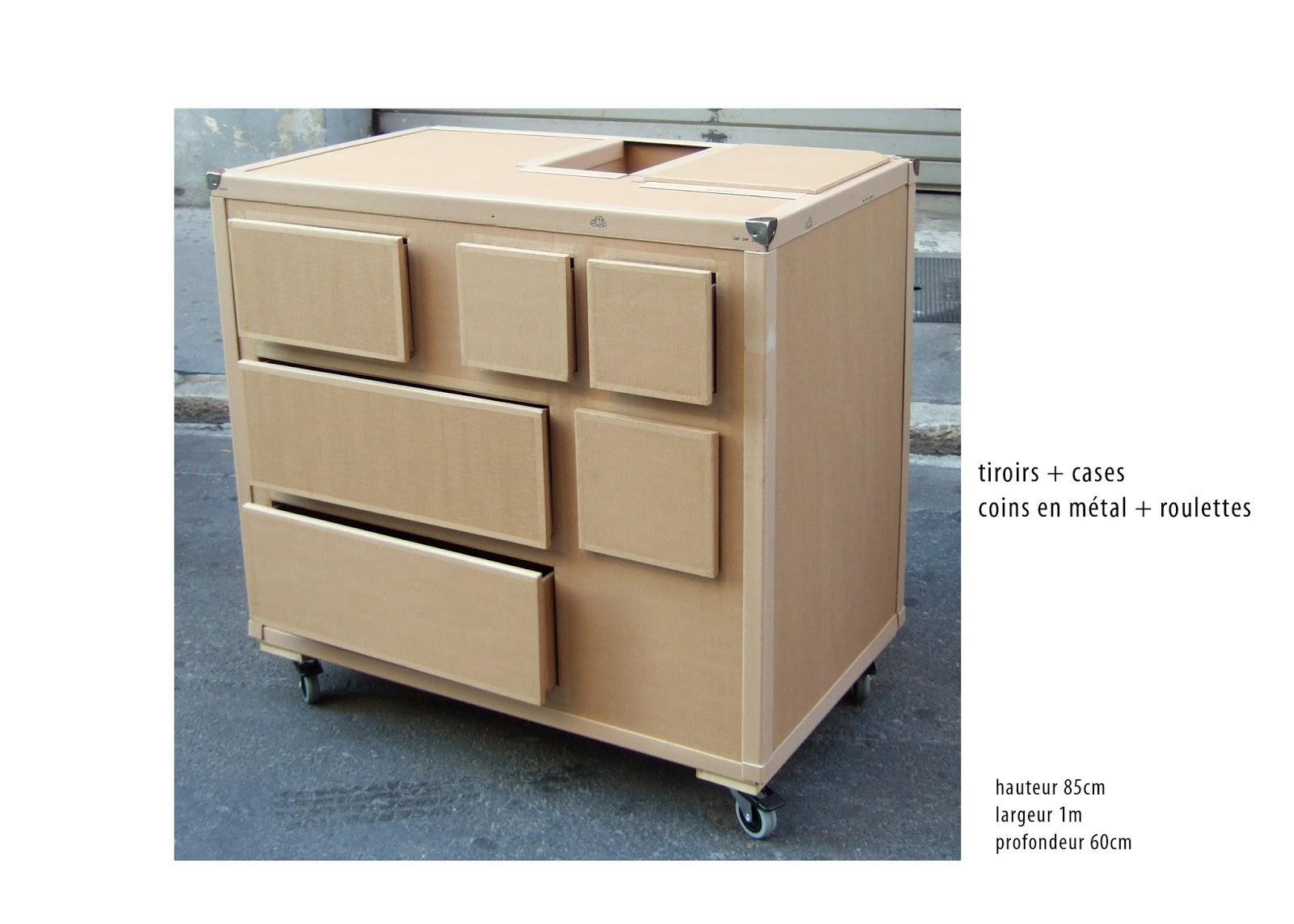 Commode En Carton Juliadesign Commodes And Buffets