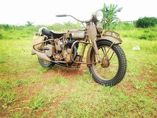 BURSA MOTOR TUA KLASIK : Forsale BSA M21 - JAKARTA