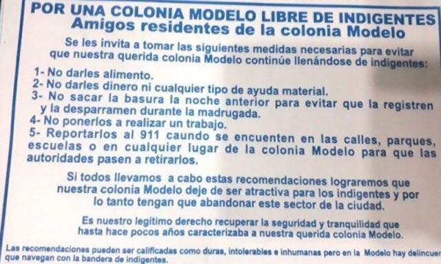 Vecinos de Hermosillo prohíben migrantes e indigentes en su colonia 'modelo'.