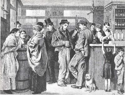 Pub scene, 1879